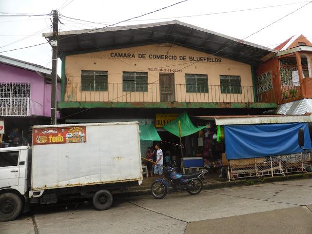 "la ""amena"" cittadina di Bluefields in Nicaragua"